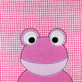 Frasier Frog Applique Pattern