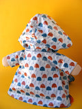 Dress Up Bunch Doll Raincoat Pattern