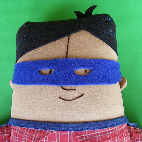 Karl (with a K) Boy Rag Doll pattern