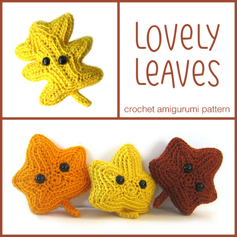 Lovely Leaves Crochet Amigurumi Pattern