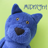 Midnight the Cat Softie Pattern