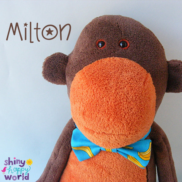 Milton Monkey Softie Pattern