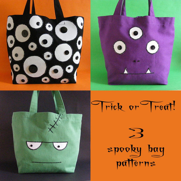 Halloween Trick or Treat Bag Pattern