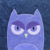 Parliament of Owls Quilt Pattern