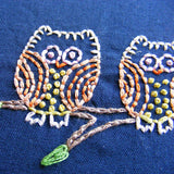 Night Owls embroidery pattern