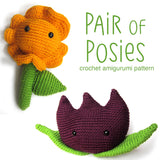 Pair of Posies Crochet Amigurumi Pattern