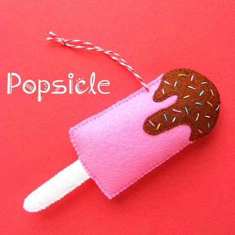 Popsicle Ornament Pattern