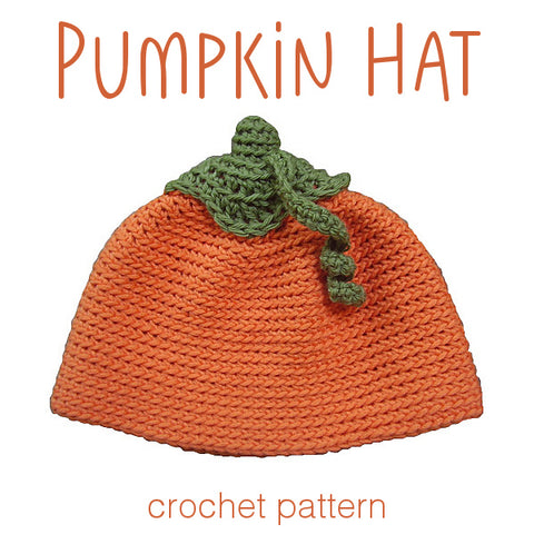 Pumpkin Hat Crochet Pattern