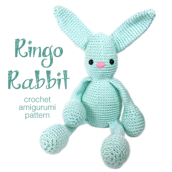 Ringo Rabbit Crochet Amigurumi Pattern