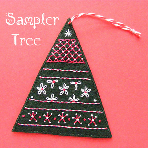 Sampler Tree Ornament Pattern
