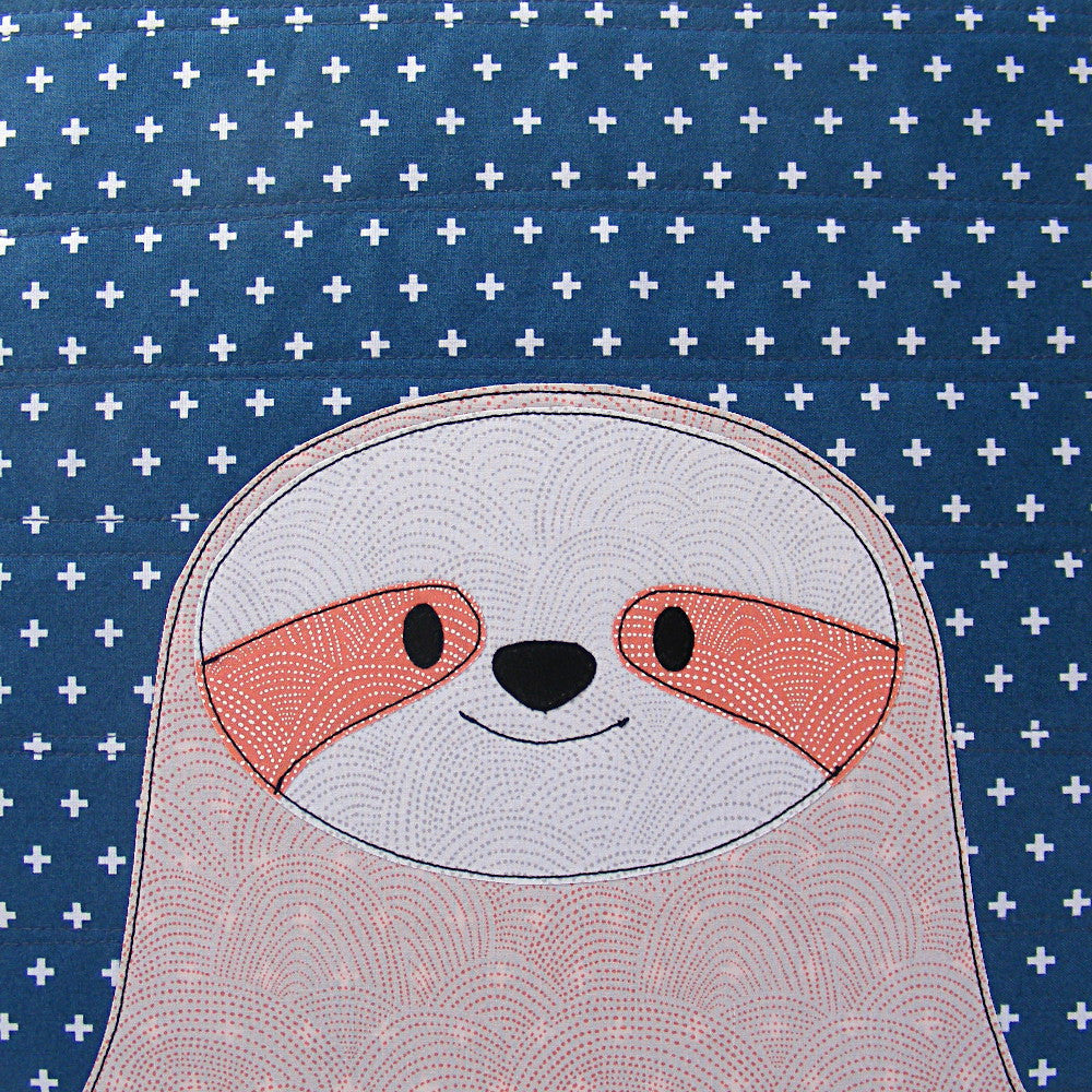 Silly Sloths Quilt Pattern Shiny Happy World