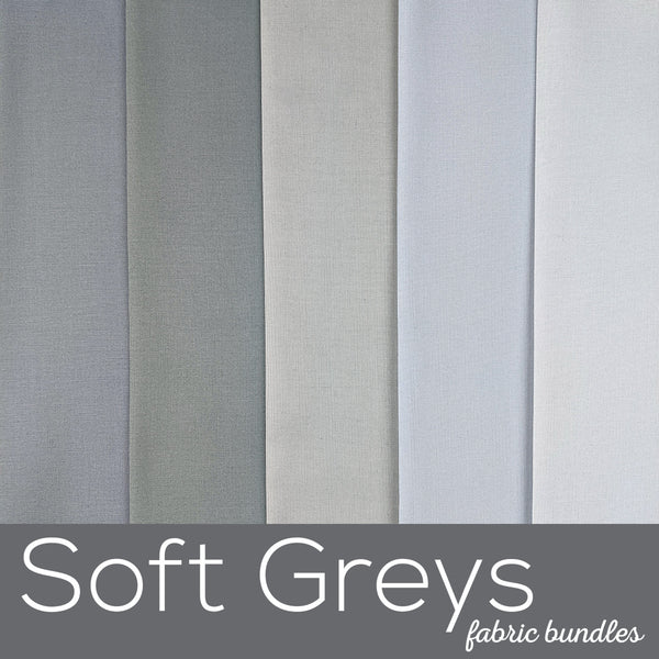 Soft Greys Fabric Bundles