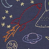 Space embroidery pattern