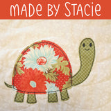 Taylor Turtle Applique Pattern