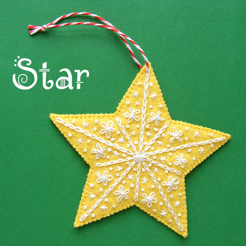Star Ornament Pattern