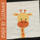 Ginny Giraffe Applique Pattern