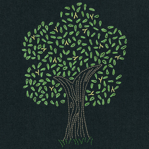 Firefly Tree embroidery pattern