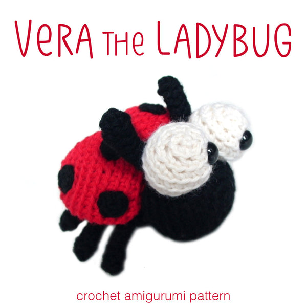 Vera The Ladybug Crochet Amigurumi Pattern Shiny Happy World