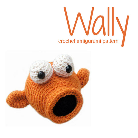 Wally the Koi Fish Crochet Amigurumi Pattern