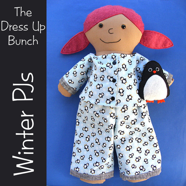 Dress Up Bunch - Winter PJs Pattern Collection