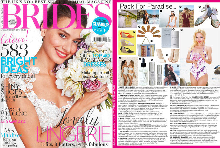 Beachcuties Boutique bikinis and swimwear for your honeymoon Brides Magazine UK