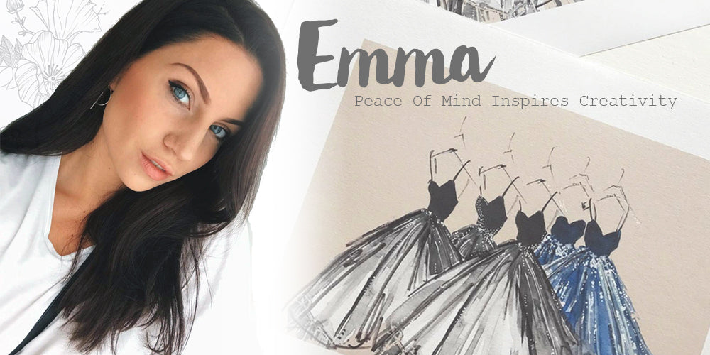 Emma Hansson is a Swedish fashion illustrator, interview at Beachcuties Boutique.