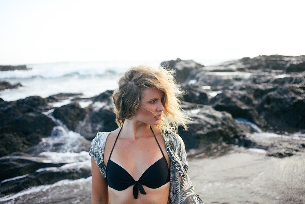 Beachcuties Boutique Lydia Cooke Blog model Cornwall