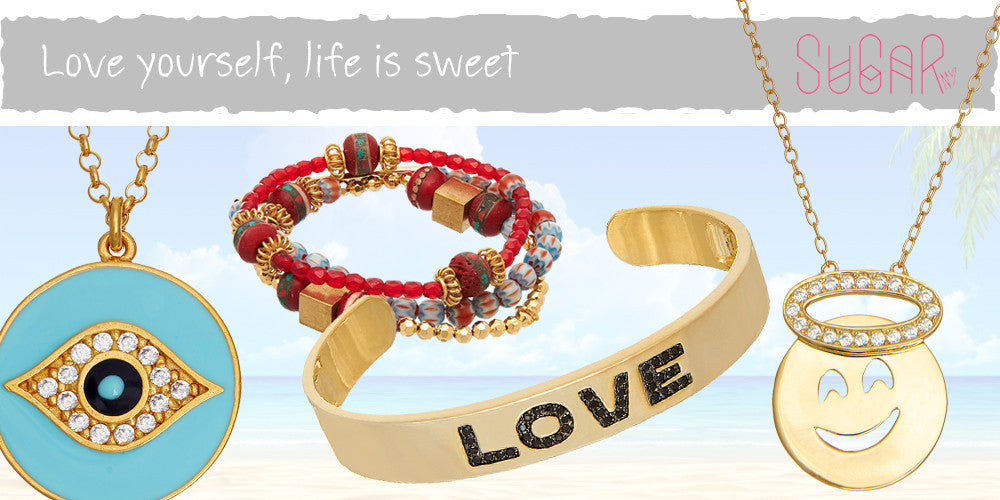 Beachcuties Boutique SugarNY Beach Jewelry Bracelets Necklaces Sterling