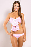 CRYSTAL COVE SWEETHEART BRIEFS - CANDY STRIPE