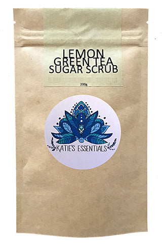 LEMON GREEN TEA SUGAR SCRUB