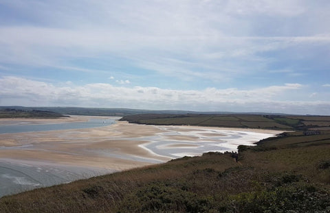 The camel estuary in Padstow