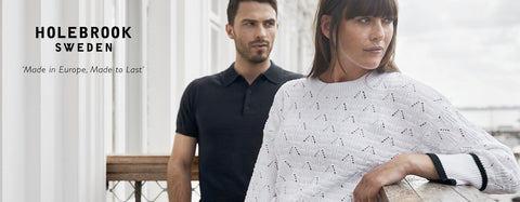 The best knitwear and casual styles from Swedish brand Holebrook