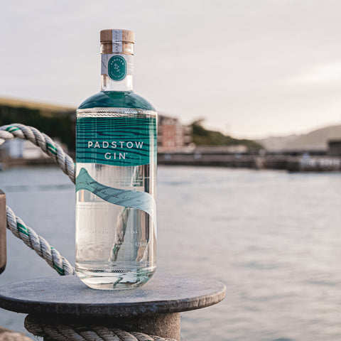 Padstow Gin, brewed here in our town