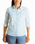 ALOFT Ladies Denim Shirt