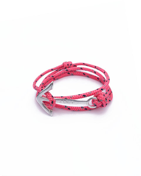 Aloft anchor charity bracelet - mixed colours