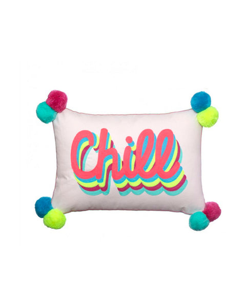 Chill Embroidered Cushion