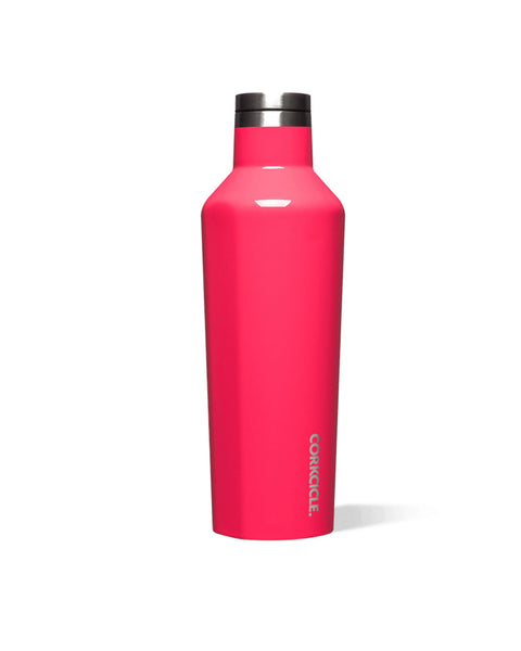 Corkcicle 16oz Canteen Bottle Gloss Flamingo