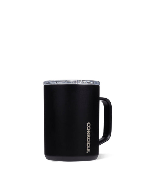 Corkcicle 16oz Black Gloss Thermal Mug