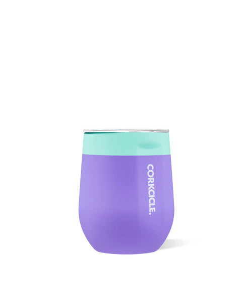 Corkcicle 12oz Stemless Cup Mint Berry