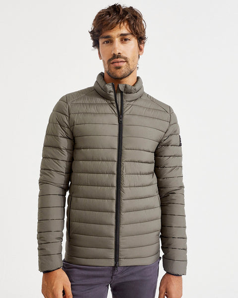 Ecoalf Beret Quilted Jacket - Olive