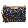 Premium Diana Clutch - Bee party in Midnight sky