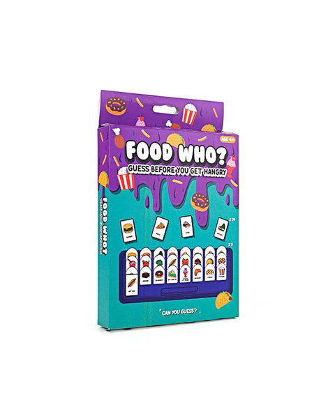 Gift Republic 'Food Who?' Game