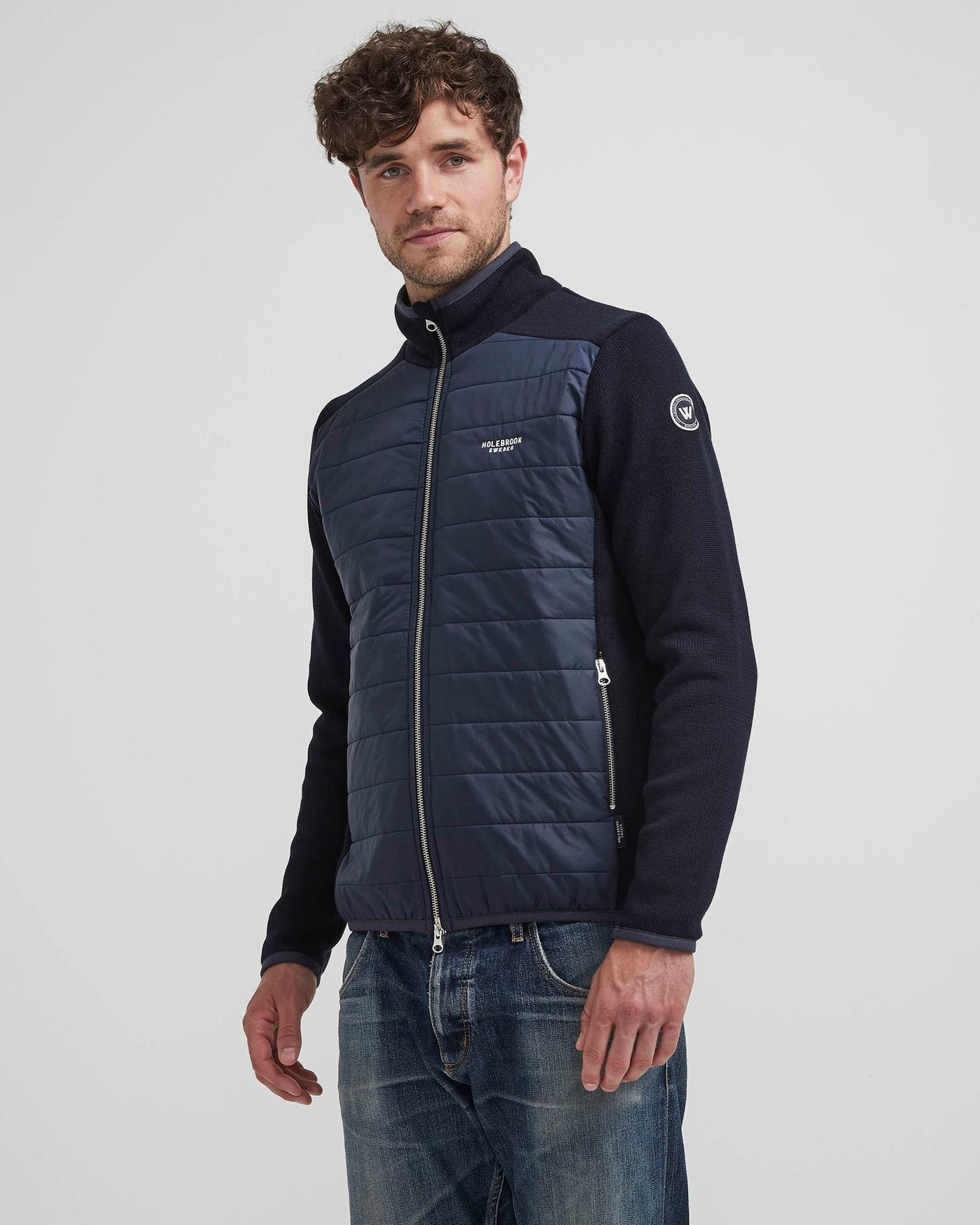 Holebrook Peder Full Zip Quilted WindProof