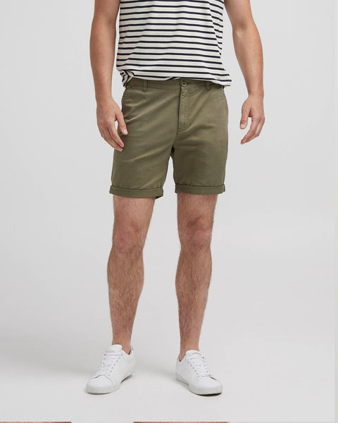 Holebrook Ludde Chino Shorts Olive