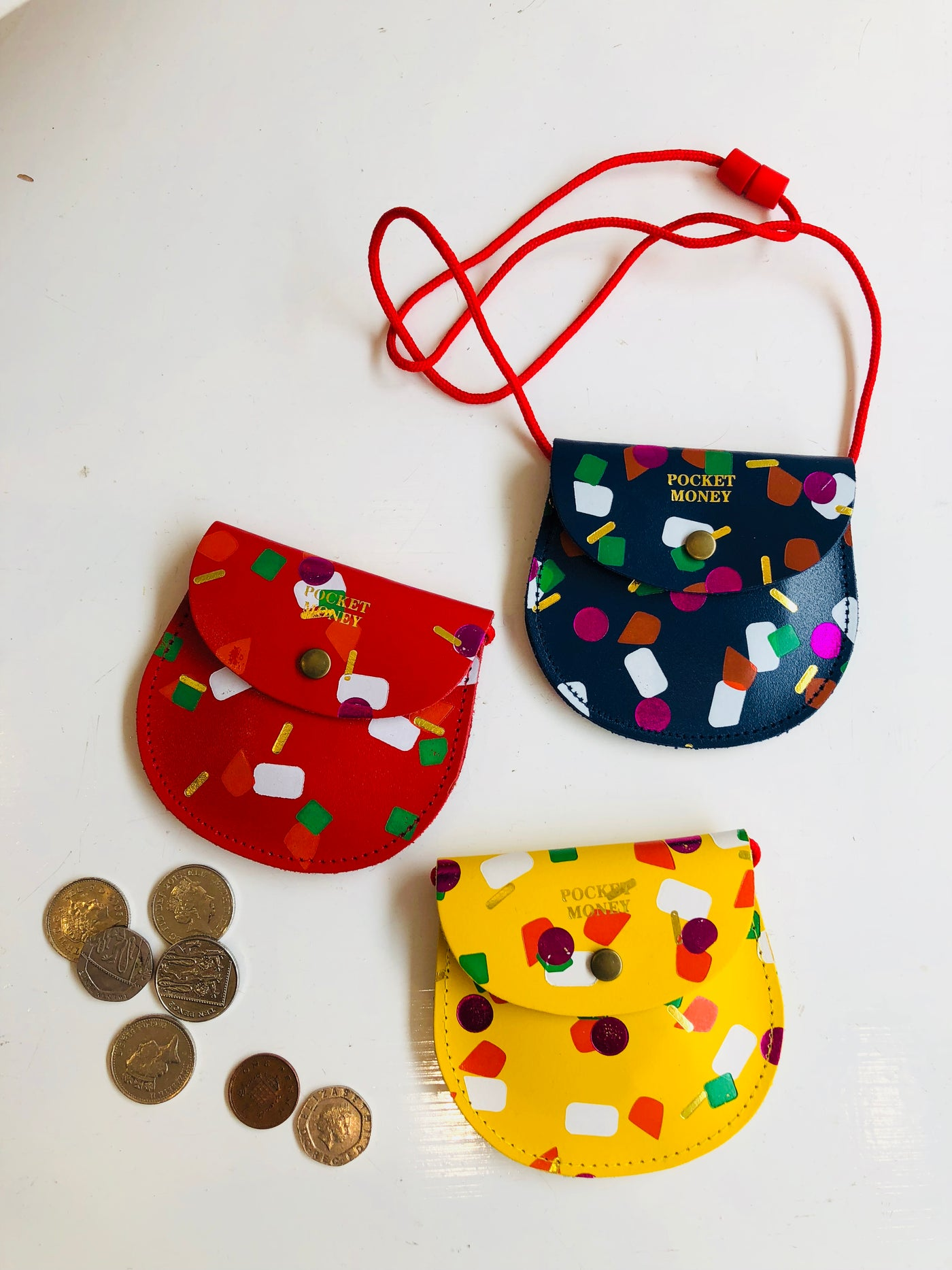 ARK Tutti Frutti Pocket Money Purse