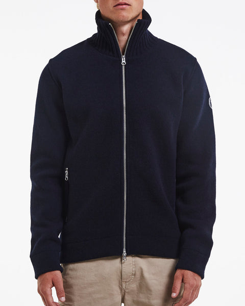 HOLEBROOK  Mans knitted windproof jacket