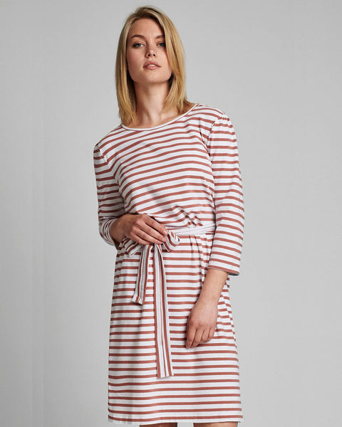striped dress from numph