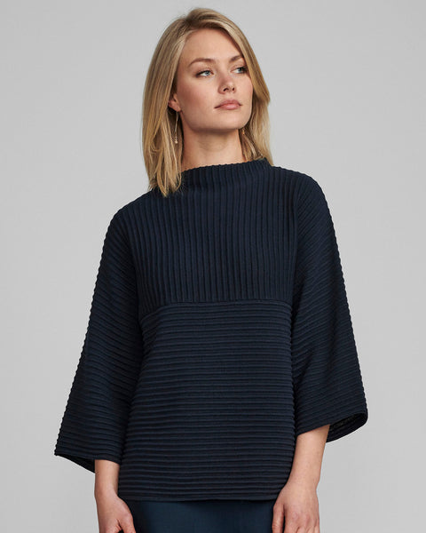 Numph Nuirmelin Ribbed knit - Navy