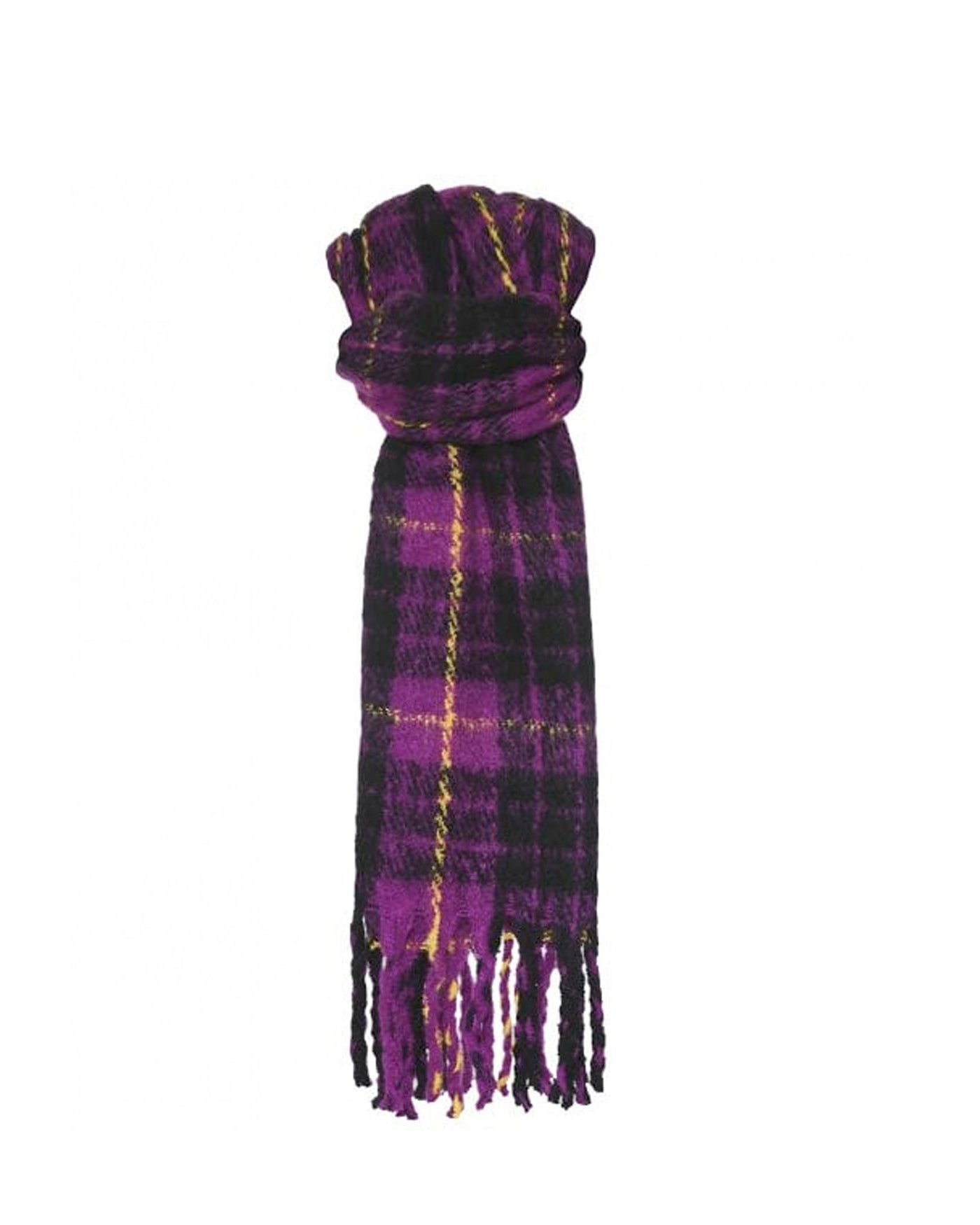 Rino Pelle Gertie Check Scarf