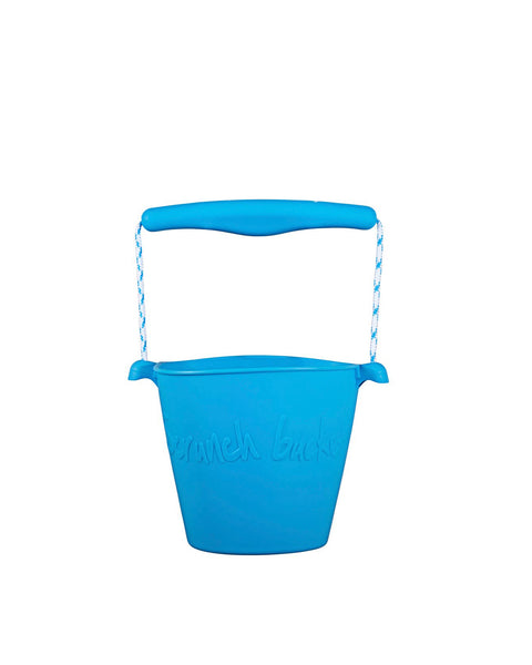 Scrunch Silicone Beach Bucket - Various colours